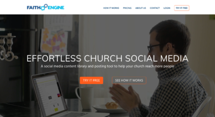 FaithEngine.com Home Page